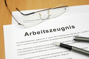 Arbeitszeugnis - Letter of Recommendation